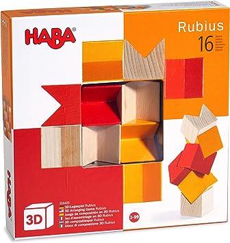 HABA 301703 Mit 36 Dreicken und 6 doppelseitig bedruckten Vorlagenbl/ättern Legespiel Zauberdreiecke F/ördert Kreativit/ät und Feinmotorik