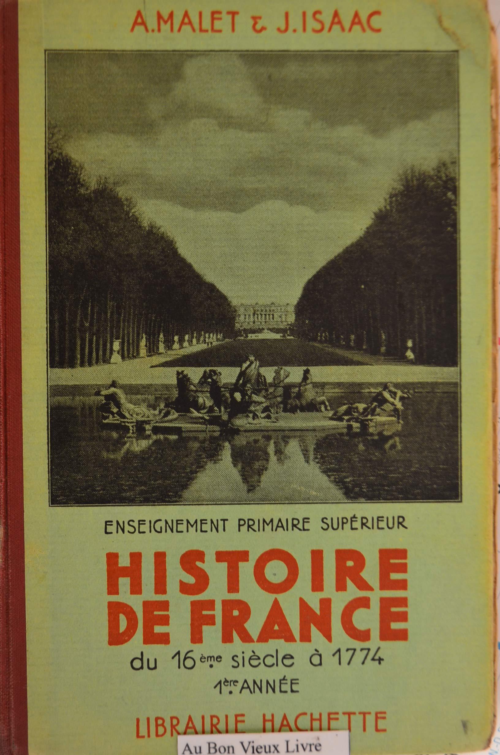 Amazon Fr Histoire De France Du 16eme Siecle A 1774