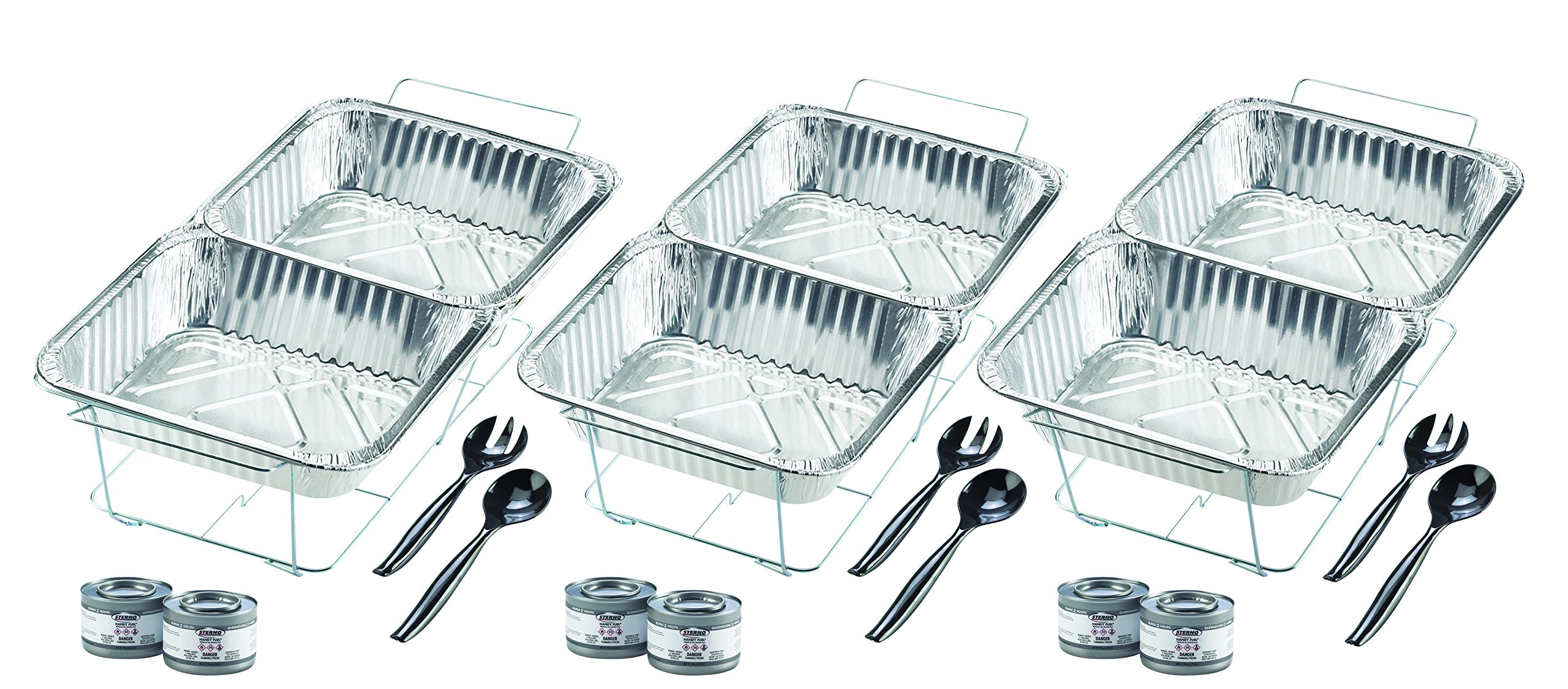 Sterno Products 24-Piece Disposable Party Set by Sterno