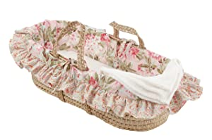 Cotton Tale Designs Moses Basket, Tea Party