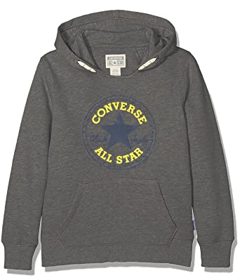 a9f21e18b146 Converse Core Chuck Taylor Patch Pullover Hoodie - Char - 5-6 Years   110