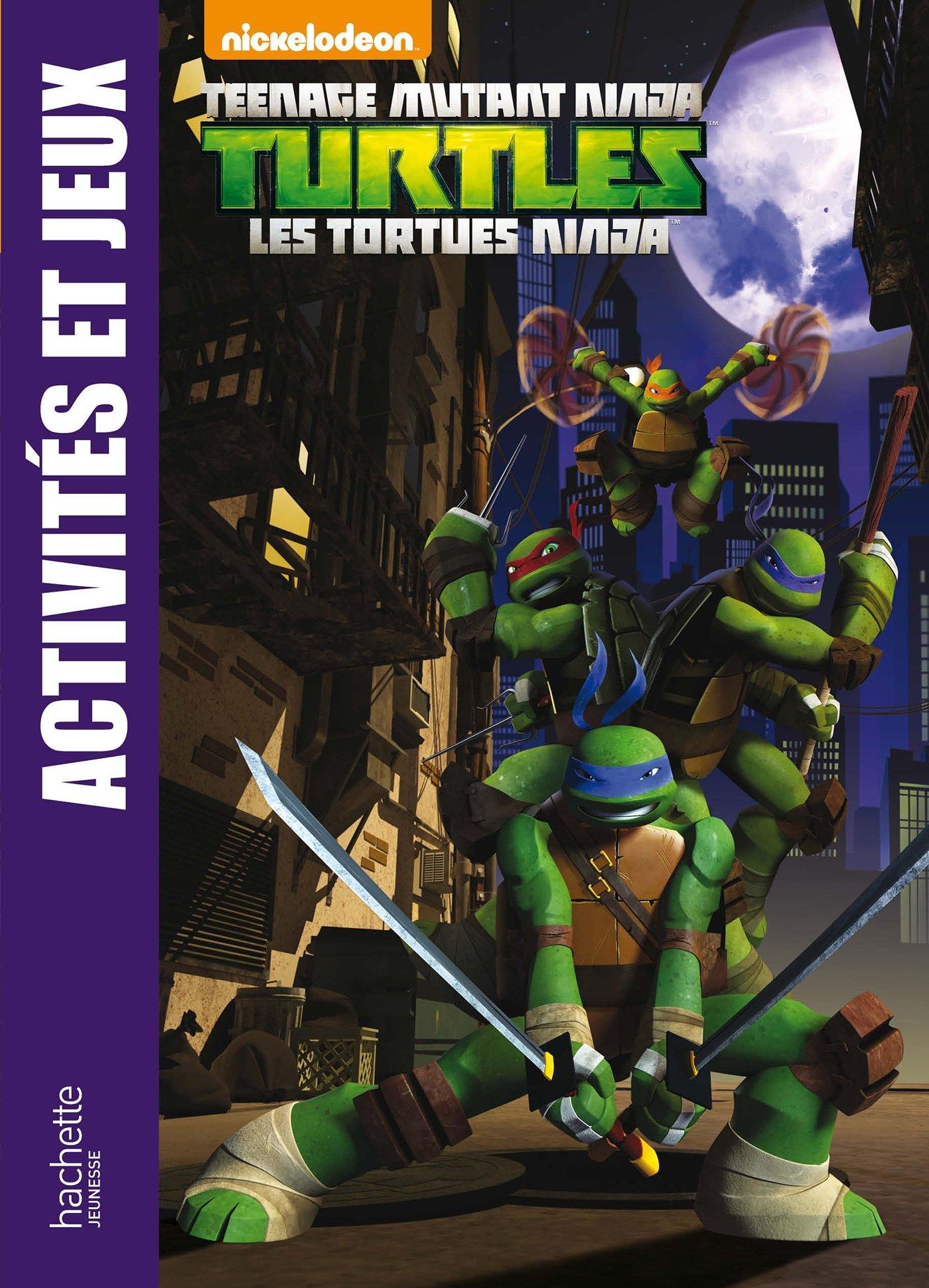 Tortues Ninja / Activités et jeux: Amazon.es: Nickelodeon ...