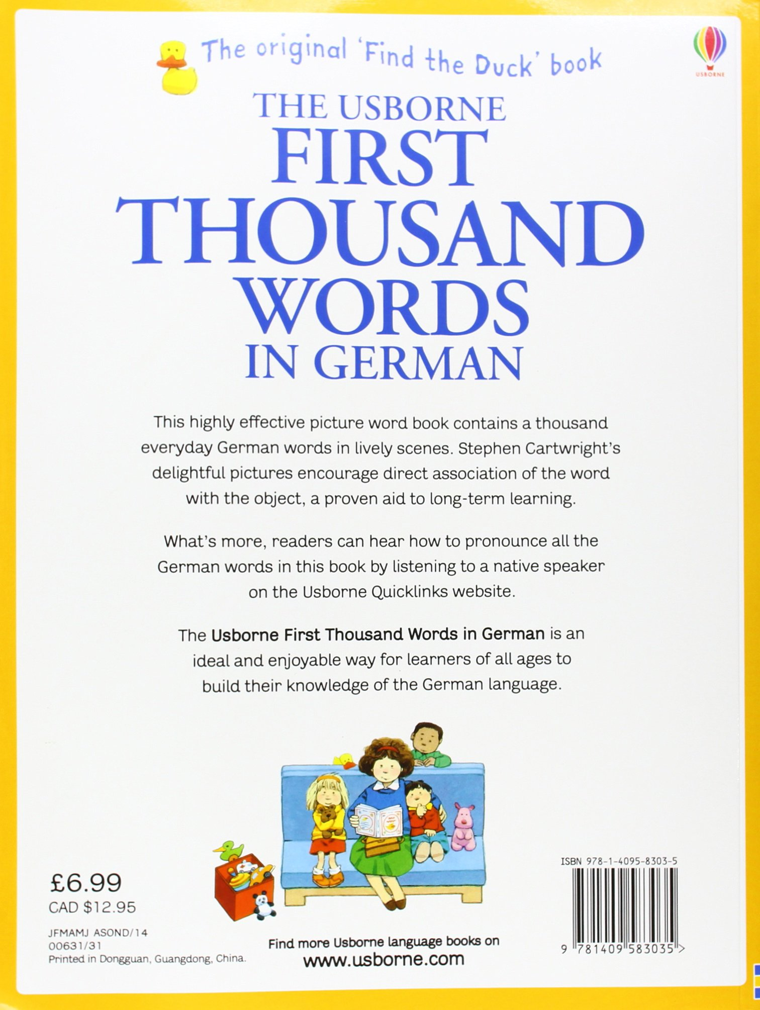 First thousand words in german amazon heather amery first thousand words in german amazon heather amery stephen cartwright 9781409583035 books kristyandbryce Images