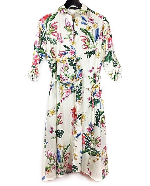 df483e1c8c8 Zara Women Shirt dress 3092 101 (Large)  Amazon.ca  Clothing ...