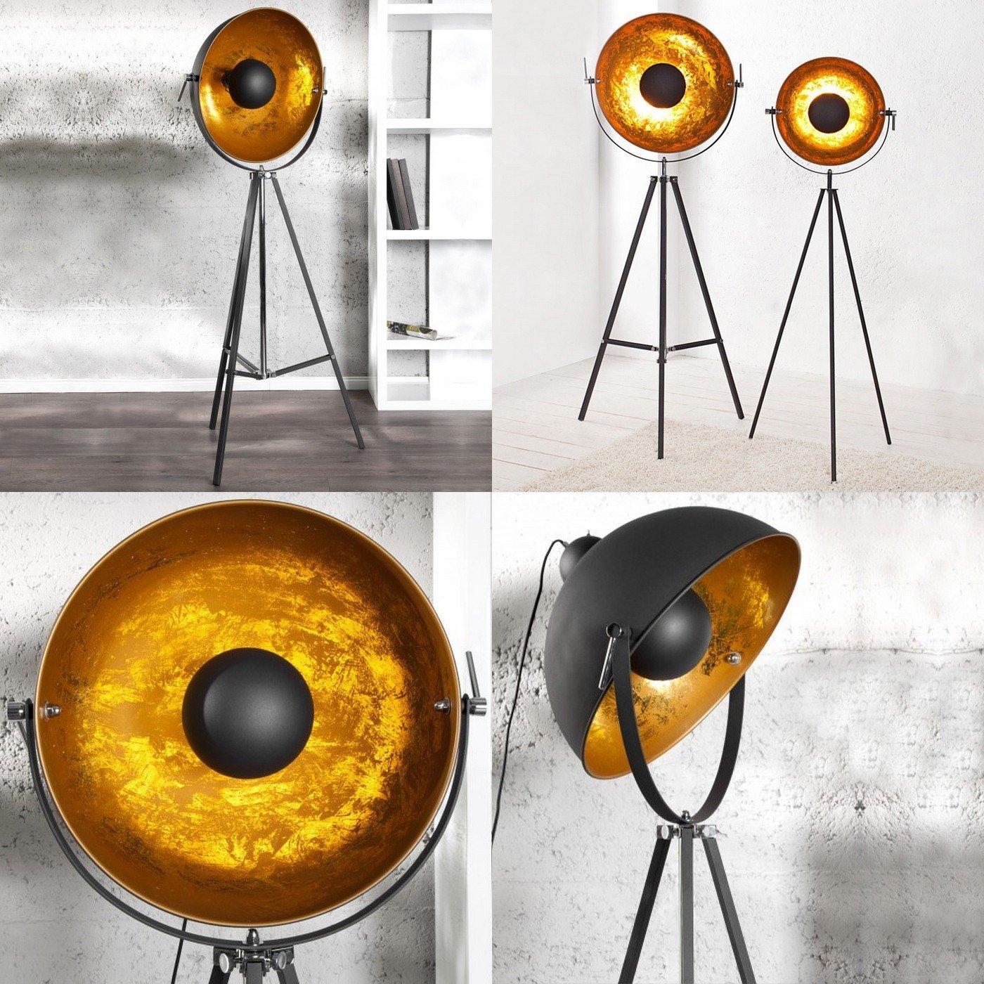 81Ld1zSFuxL._SL1400_ Faszinierend Stehlampe Studio Schwarz Gold Dekorationen