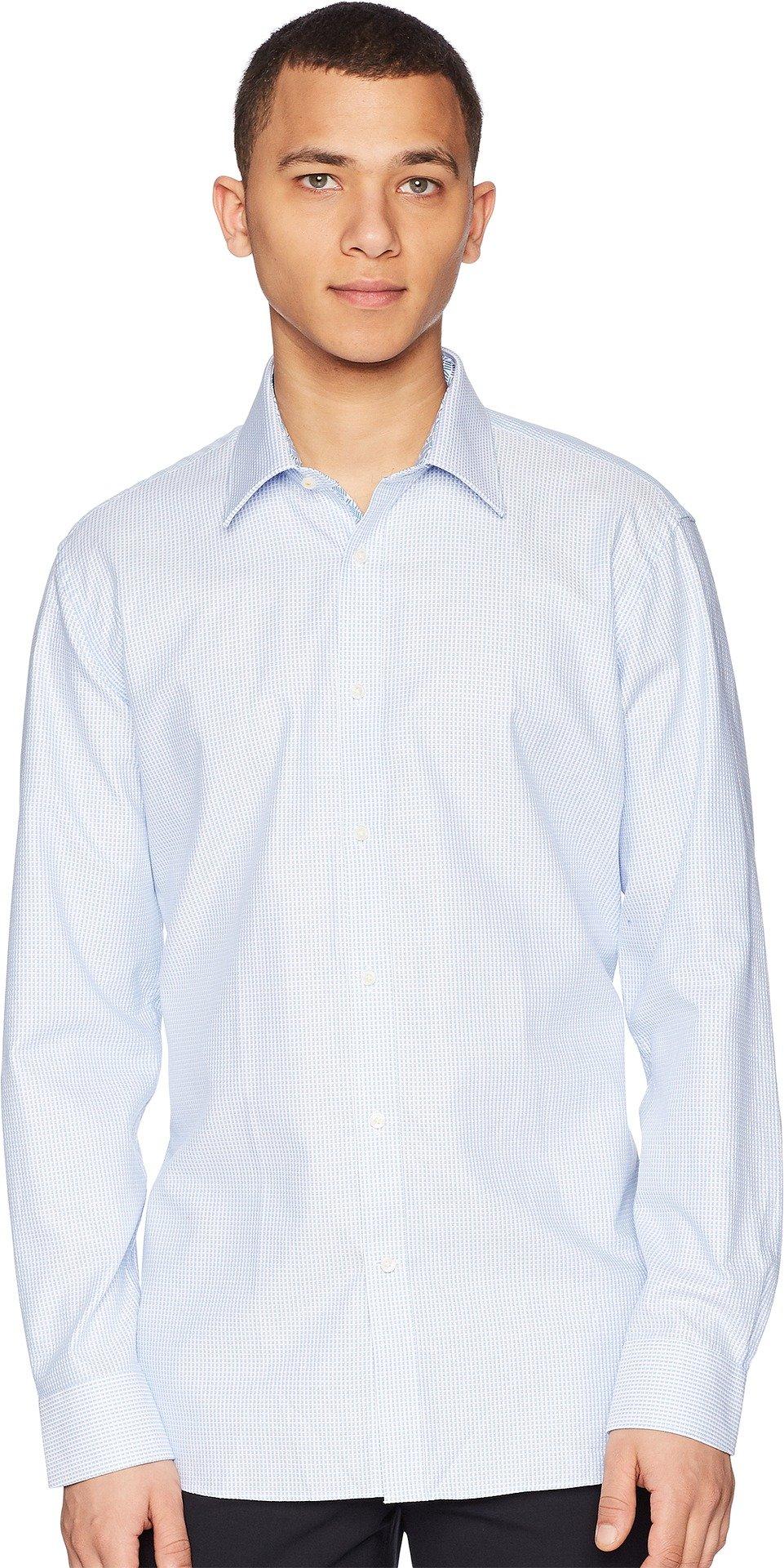 Ted Baker Men's Hooch Endurance Dress Shirt Blue 16-32/33