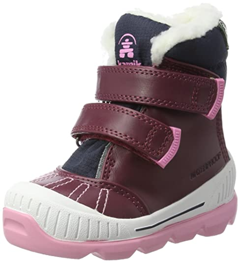 Kamik Parker, Botas de Nieve para Niñas, Violett (Plum-Prune),