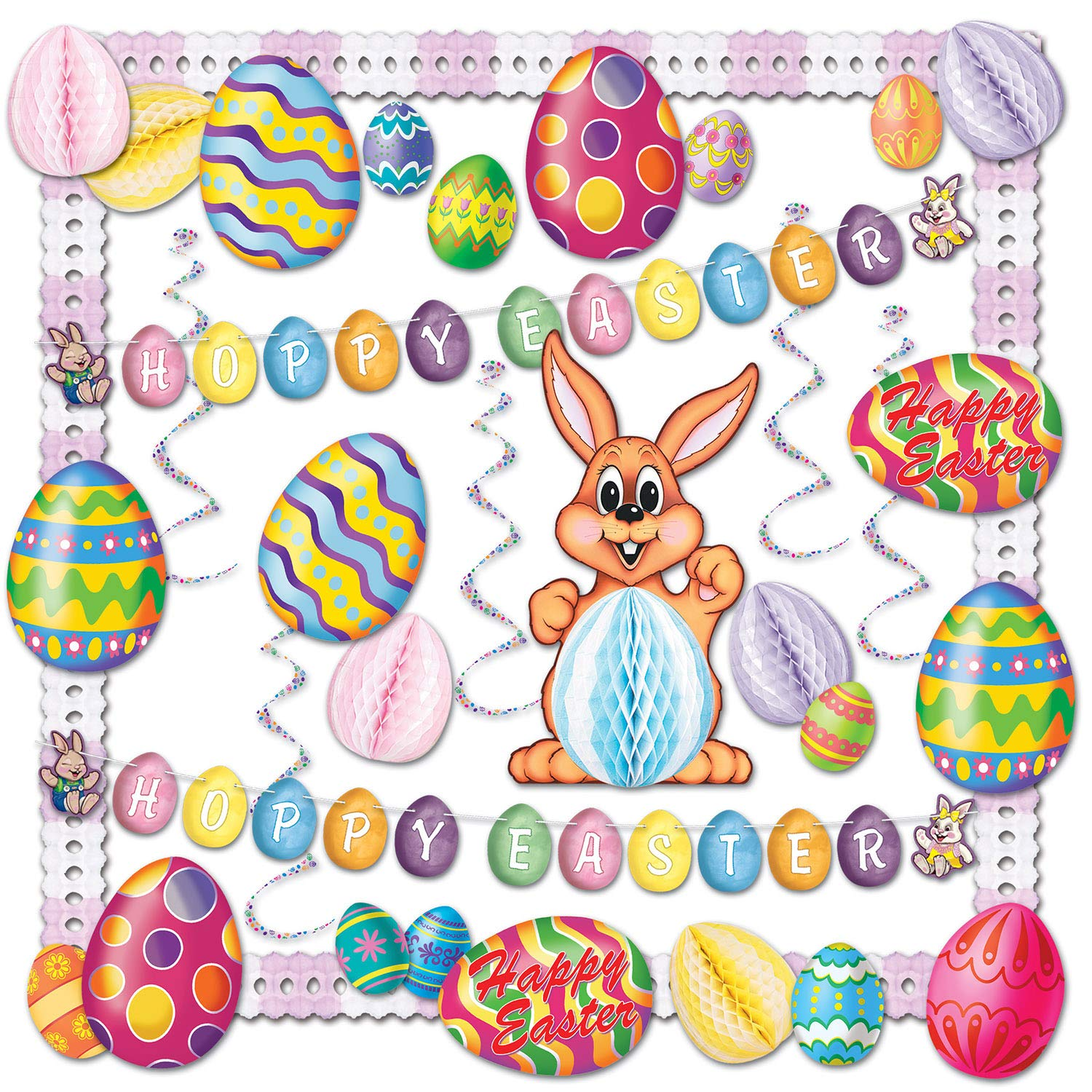Beistle 44205 26-Piece Easter Decorating Kit by Beistle