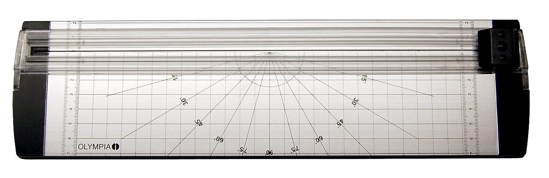 color negro /& Basics Plastificadora A4 con fundas 80 mic A4, 100 unidades Olympia 4 in 1 Set A 230 L/áminas para plastificar