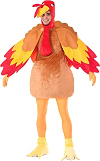 Forum Novelties Gobbles The Turkey Costume  sc 1 st  Amazon.com & Amazon.com: Forum Novelties Menu0027s Deluxe Plush Turkey Mascot Costume ...