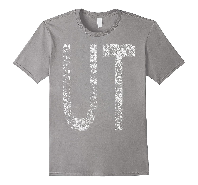 Utah UT State Pride Home Text Souvenir T-Shirt-TH