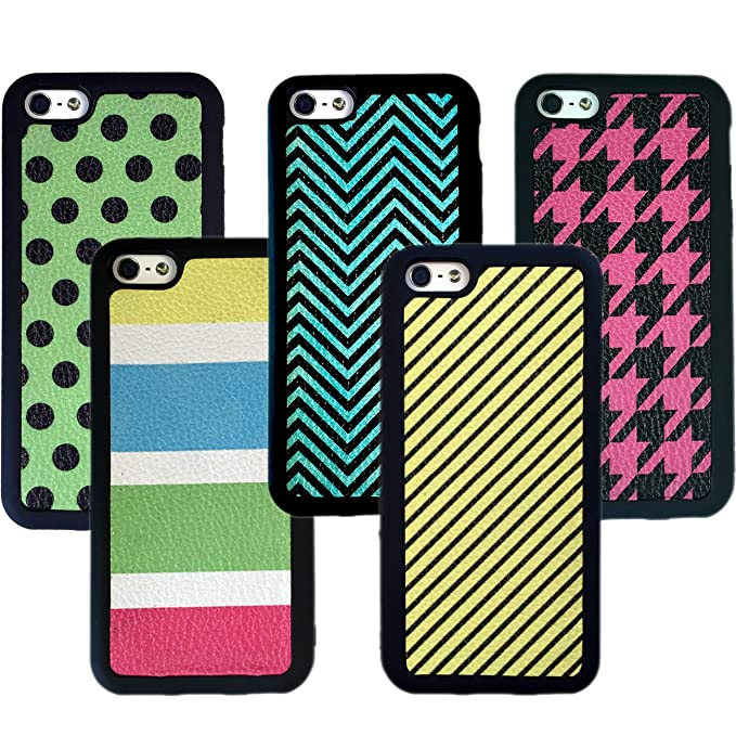 san francisco 6ca0b c8d57 iPhone 5C Case For Teen Girls (5 Case BUNDLE Pack) By SnapWolf ...