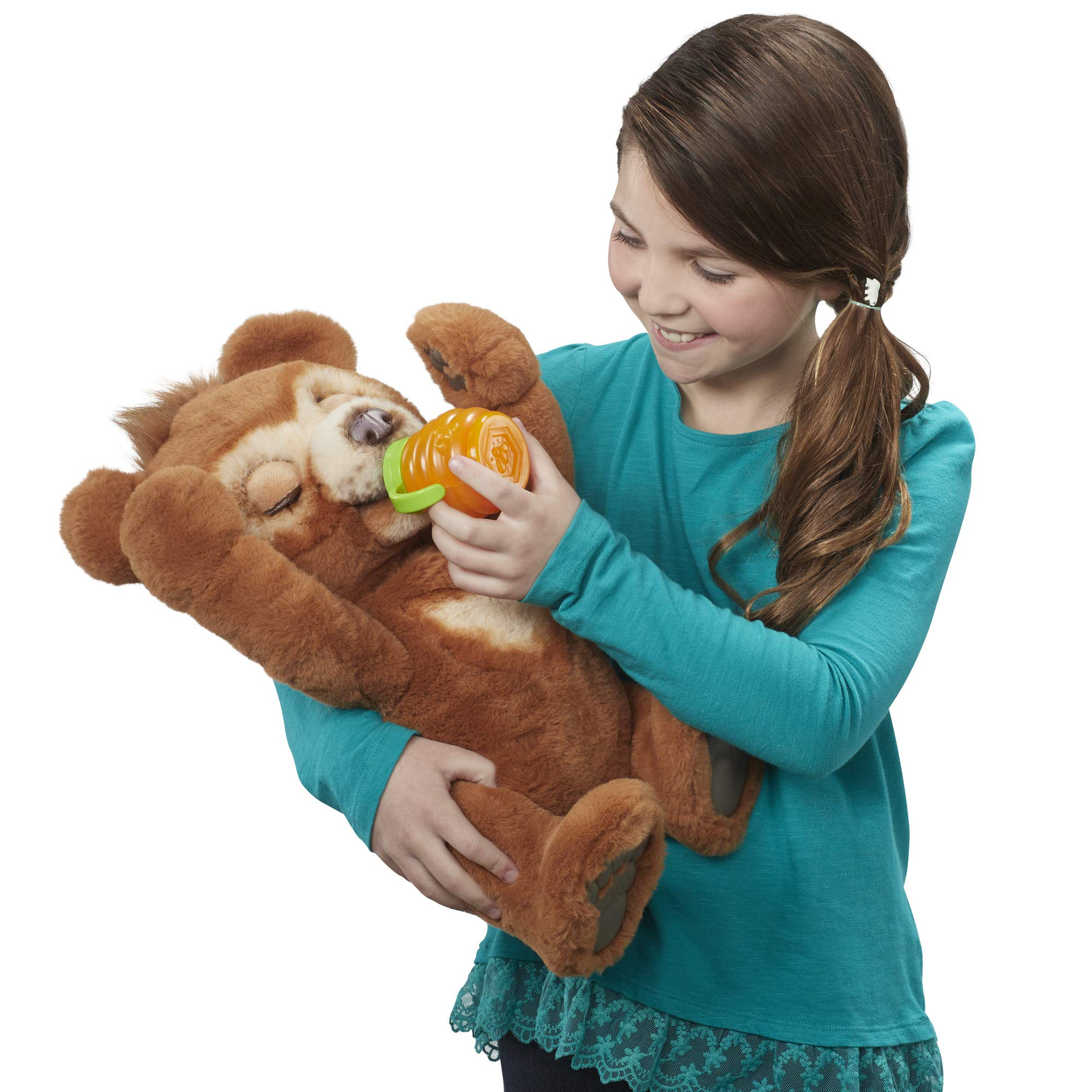 FurReal Cubby, The Curious Bear Interactive Plush Toy, Ages 4 and Up by FurReal (Image #3)