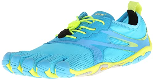 Vibram FiveFingers Bikila Evo, Zapatillas de Running Mujer, Azul (Blue), 42: Amazon.es: Zapatos y complementos