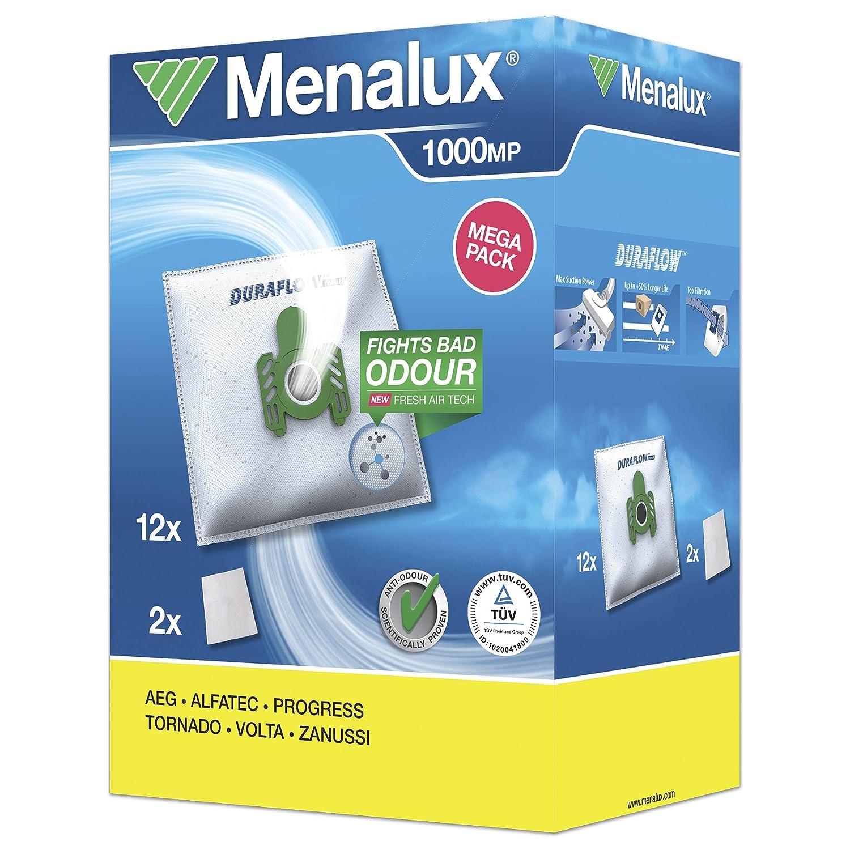 Menalux MegaPack - Bolsas para aspiradoras AEG, CE (12 ...