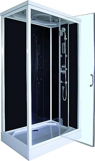 Aqua Plus sachcabrica rica 8/120 de cabina de ducha Hydro gris ...
