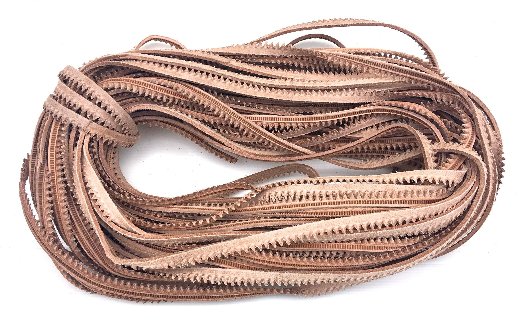 50 Meters of Decorative Veg Tan Leather Shoe Welt Cord for Shoemaking or Shoe Repair by TATYZ