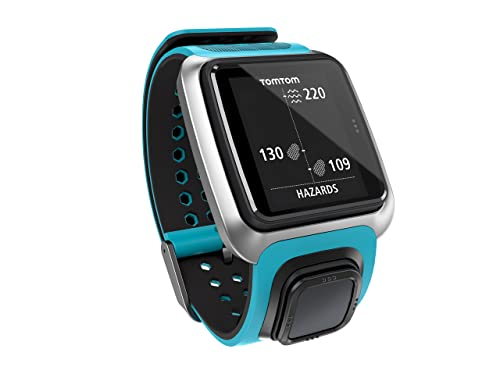 TomTom Golfer GPS Watch - Scuba Blue/Sky Capt Blue