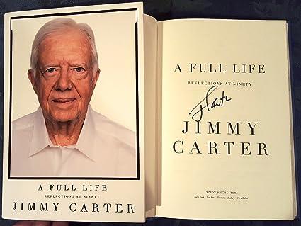 Resultado de imagen para 'A Full Life: Reflections at Ninety' de Jimmy Carter.