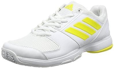 f3a681f8c Adidas Women s Barricade Court W Ftwwht Byello Ftwwht Tennis Shoes - 5 UK