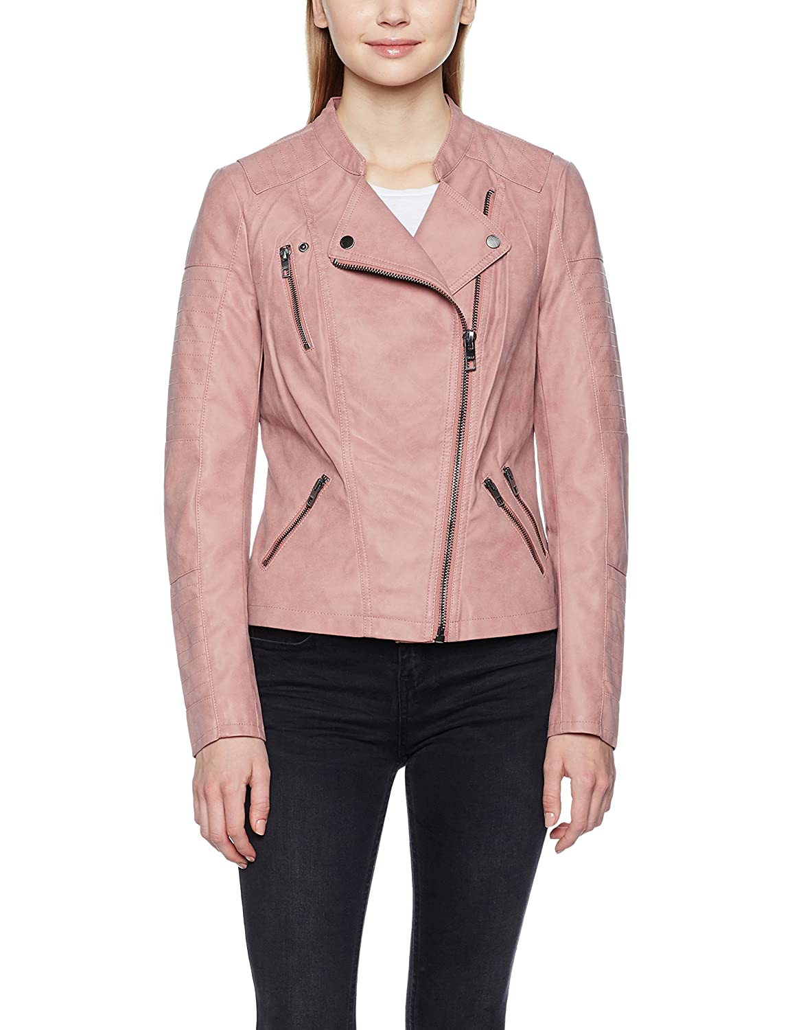 Chaqueta Color Marrón Noos Onlava Biker Otw Mujer Leather Faux Para pOHwPqgXx