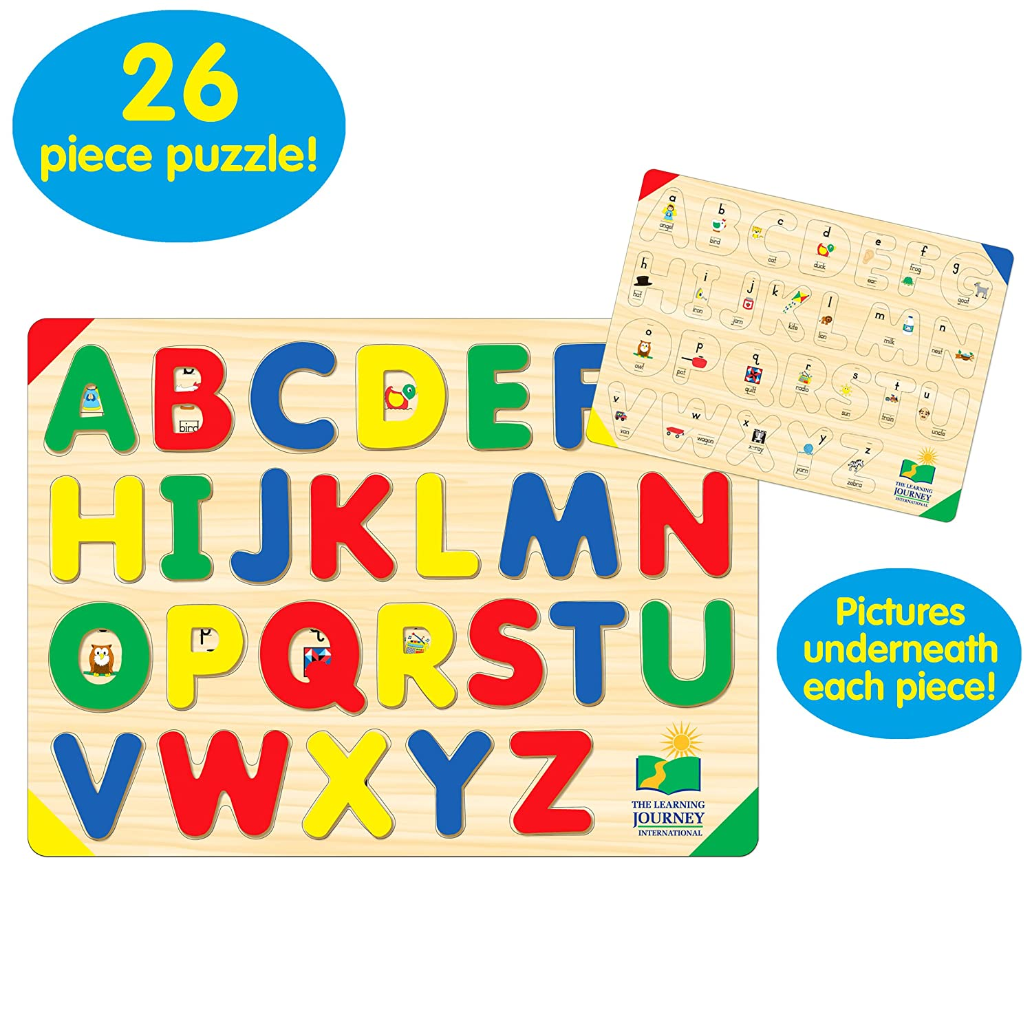 amazon com the learning journey lift u0026 learn abc puzzle toys u0026 games