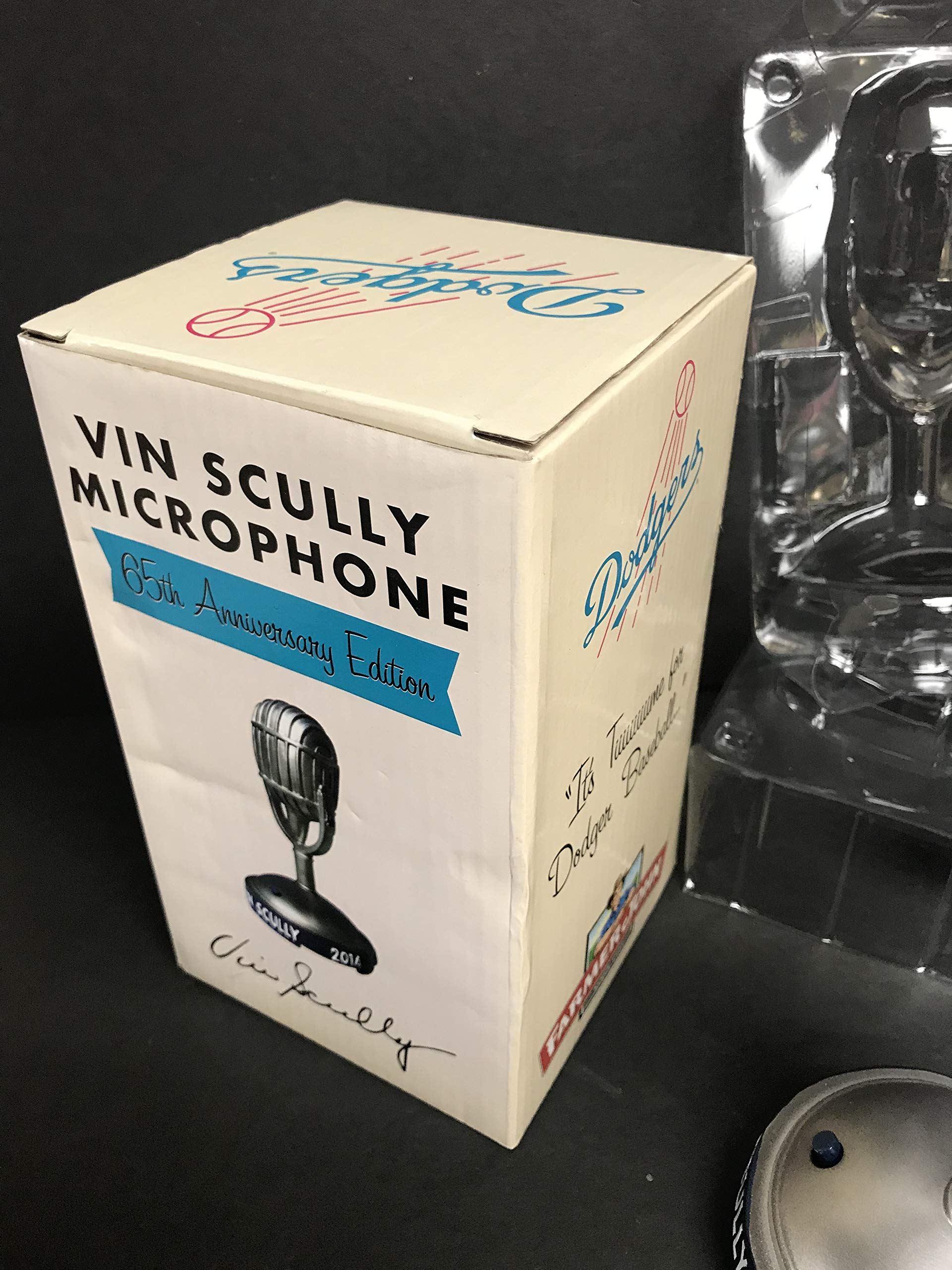 Vin Scully Los Angeles Dodgers 65th Anniversary TALKING MICROPHONE SGA Promotional MIC
