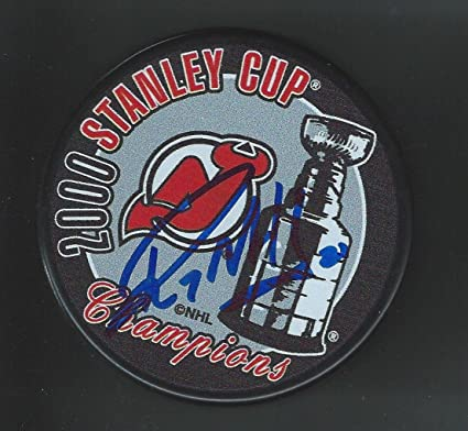 7c59eaee2 Image Unavailable. Image not available for. Color  Randy McKay Signed Puck  - 2000 Stanley Cup Champions - Autographed NHL Pucks