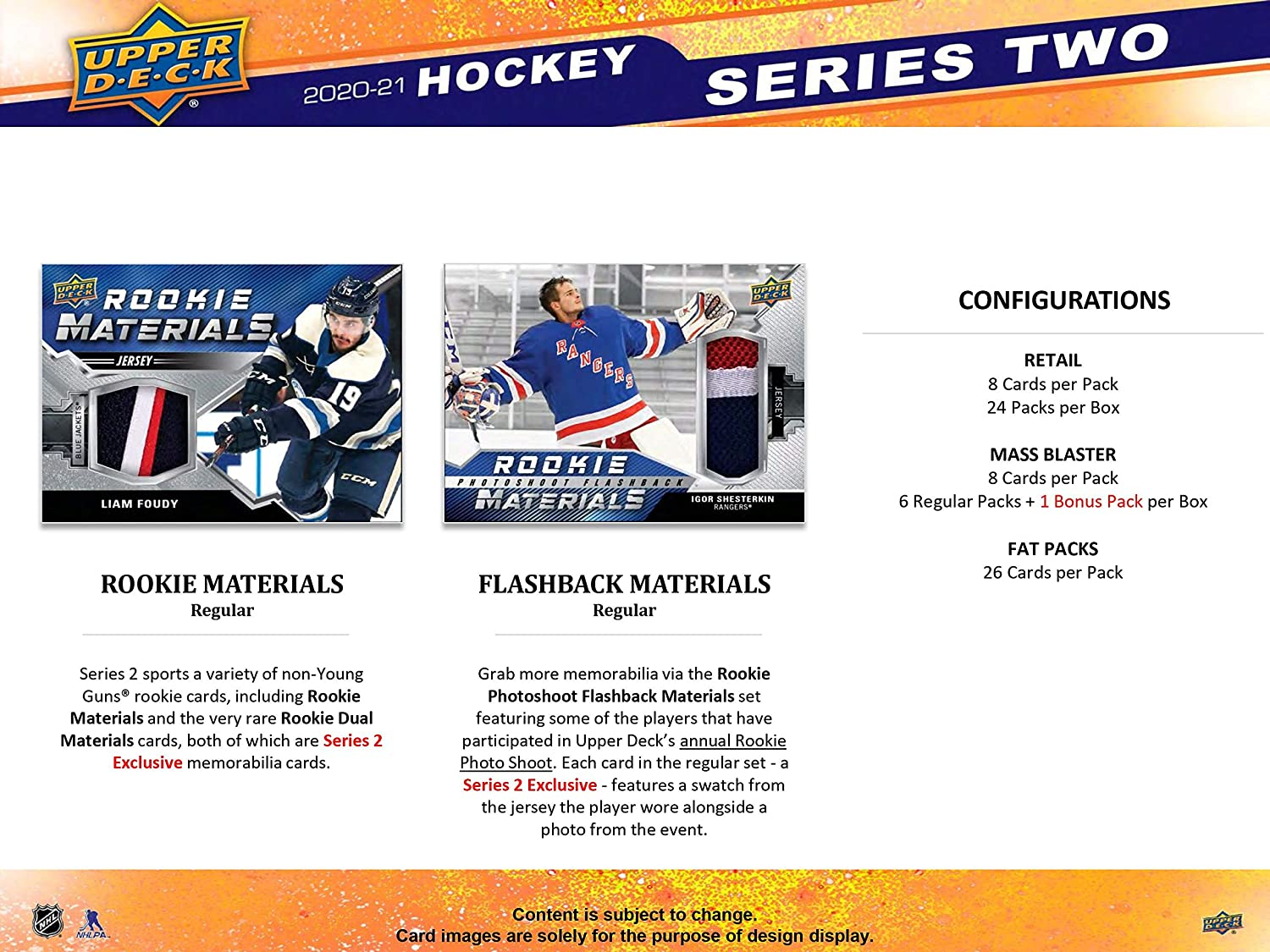 Sports Collectibles Trading Cards 2020/21 Upper Deck Series 2 ...