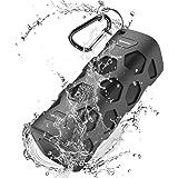 Unbreakable Bluetooth Speakers Wireless Portable Speaker Waterproof/Dustproof With Bass HD Sound+5200mAh Power Banks+NFC Support+20 Hours Playtime+Built-In Dual Driver Speakerphone