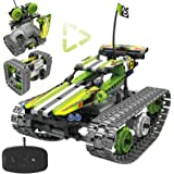 Remote Control Car Building Kit - RC Tracked Racer 3 in 1 Building Set, Fun, Educational, Learning, STEM Toys, Best Gift for