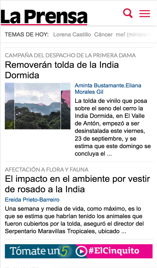 Amazon.com: La Prensa - Noticias de Panamá - prensa.com: Appstore for Android