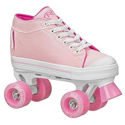 Roller Derby Zinger para patines tamaño 04 de la niña, rosa, ...
