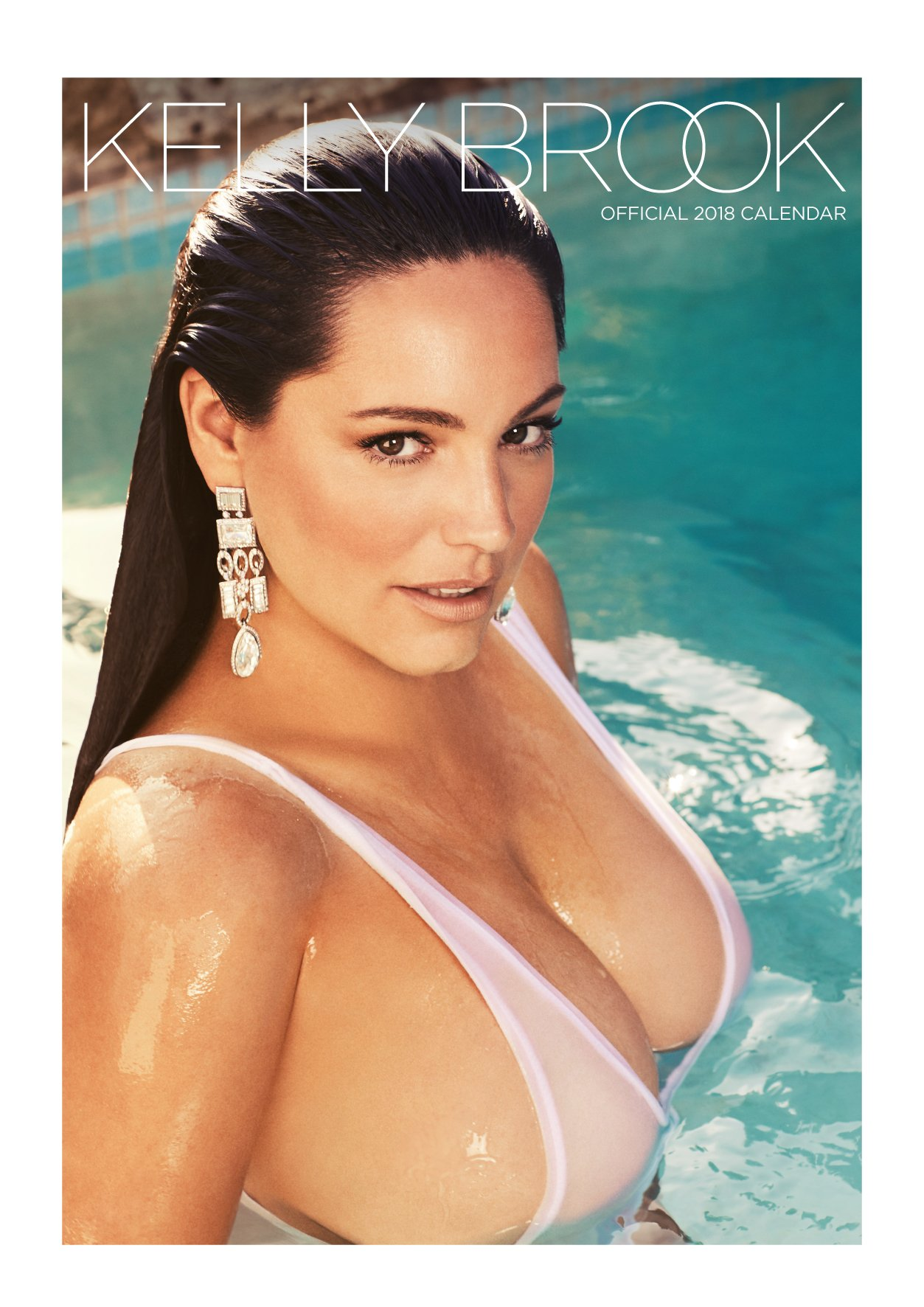 Kelly Brook Official 2018 Calendar - A3 Poster Format