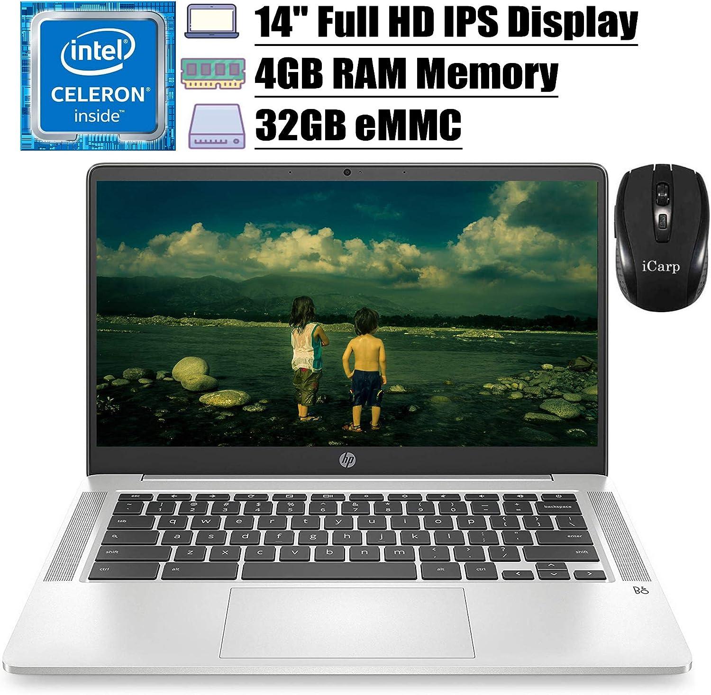 2020 Flagship HP Chromebook14 Laptop Computer 14