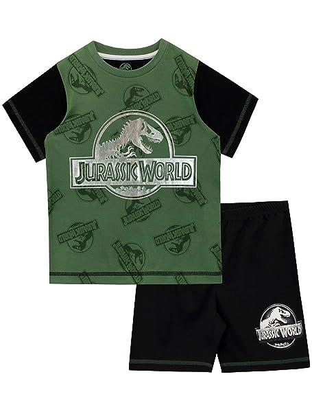 Jurassic Pigiama Maniche World DinosauroAmazon Ragazzi A Per Corta c4SA35jRqL