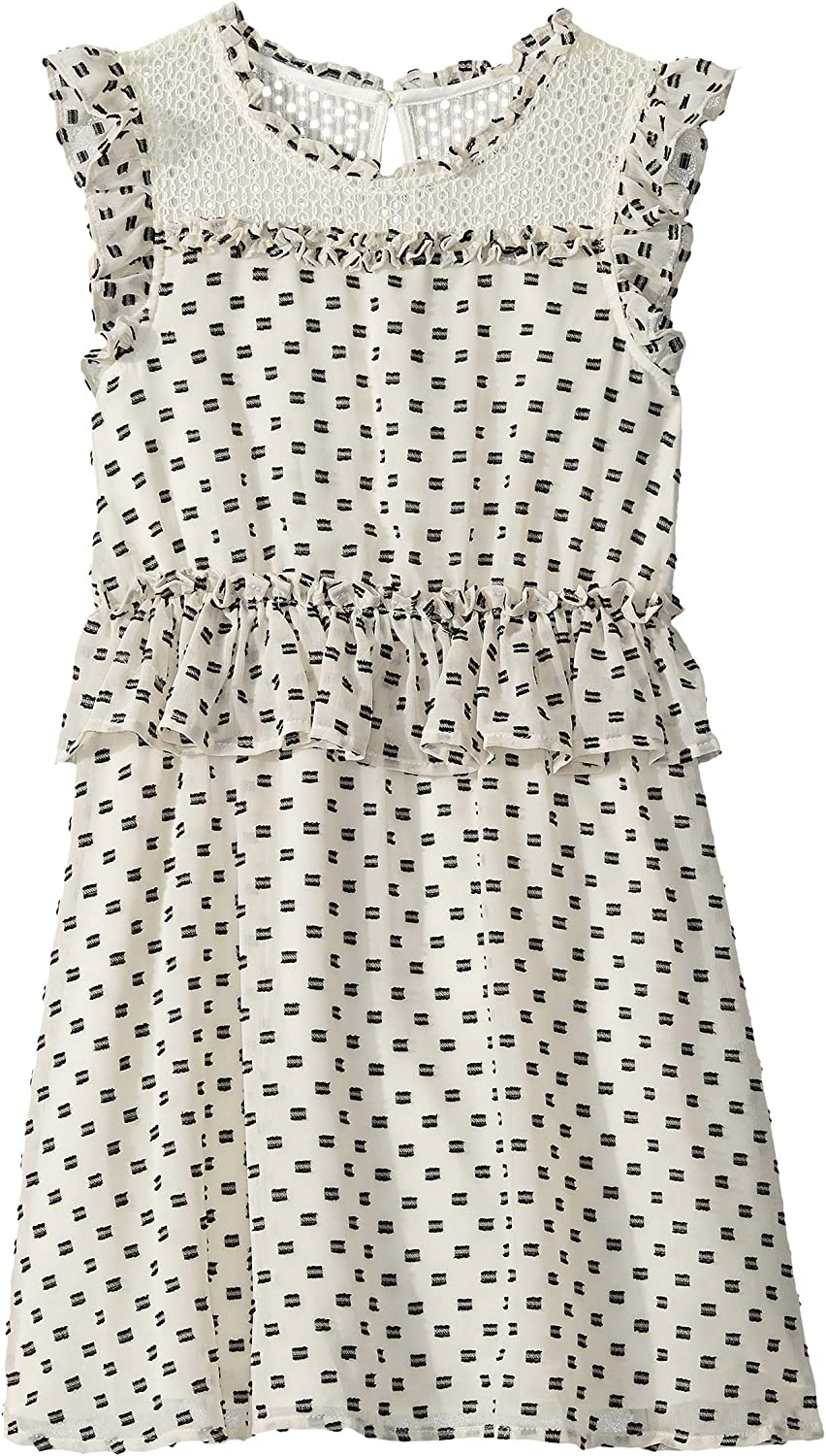 BCBG Girls Girls Printed Challis Romper Big Kids