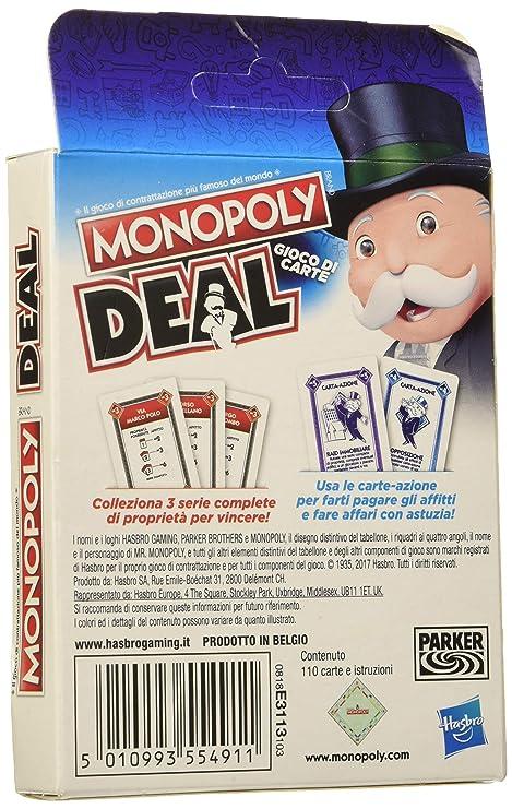 Monopoly Deal: Amazon.es: Juguetes y juegos