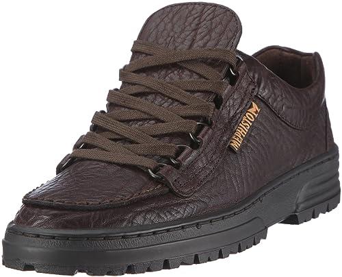 Mephisto CRUISER MAMOUTH 751 DARK BROWN P1291822 - Zapatos de cuero para hombre, color marrón, talla 46.5