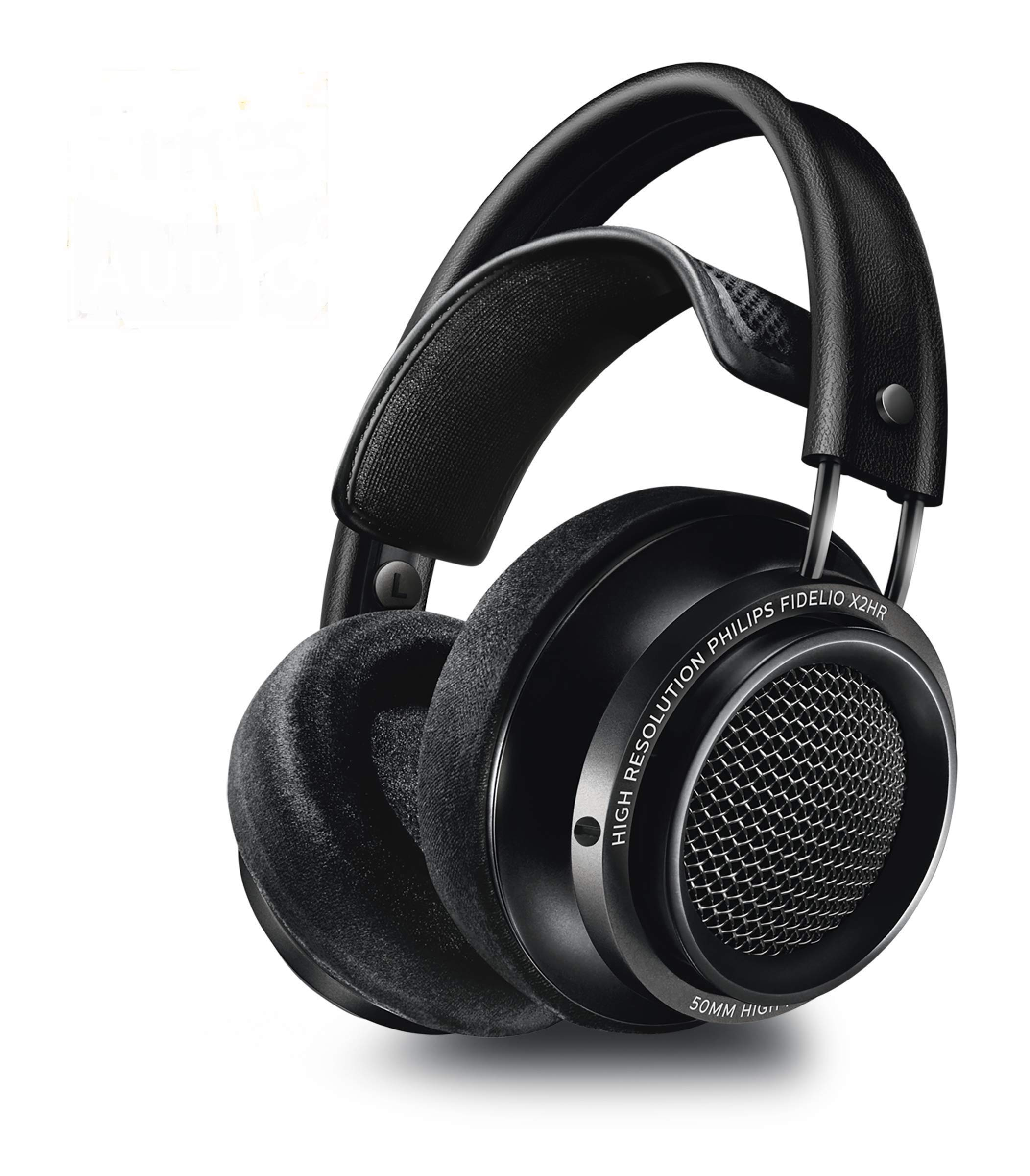 Philips Fidelio X2HR Over-Ear Open-Air Headphone - Black by Philips Audio