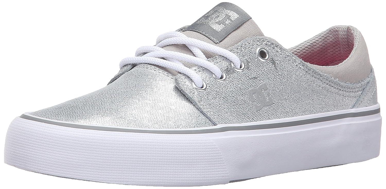 DC Women's Trase SE Skateboarding Shoe B0184OD0HS 6.5 B(M) US|Silver