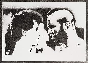 Rocky Balboa E Mr T Handmade Street Art - Artwork - Poster