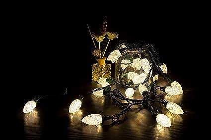 Amazon Com Lamphome C9 Christmas String Lights 25 Led