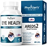 Areds 2 Eye Vitamins (Clinically Proven LuteMax 2020) Lutein and Zeaxanthin Supplement, Supports Eye Strain, Dry Eye and…