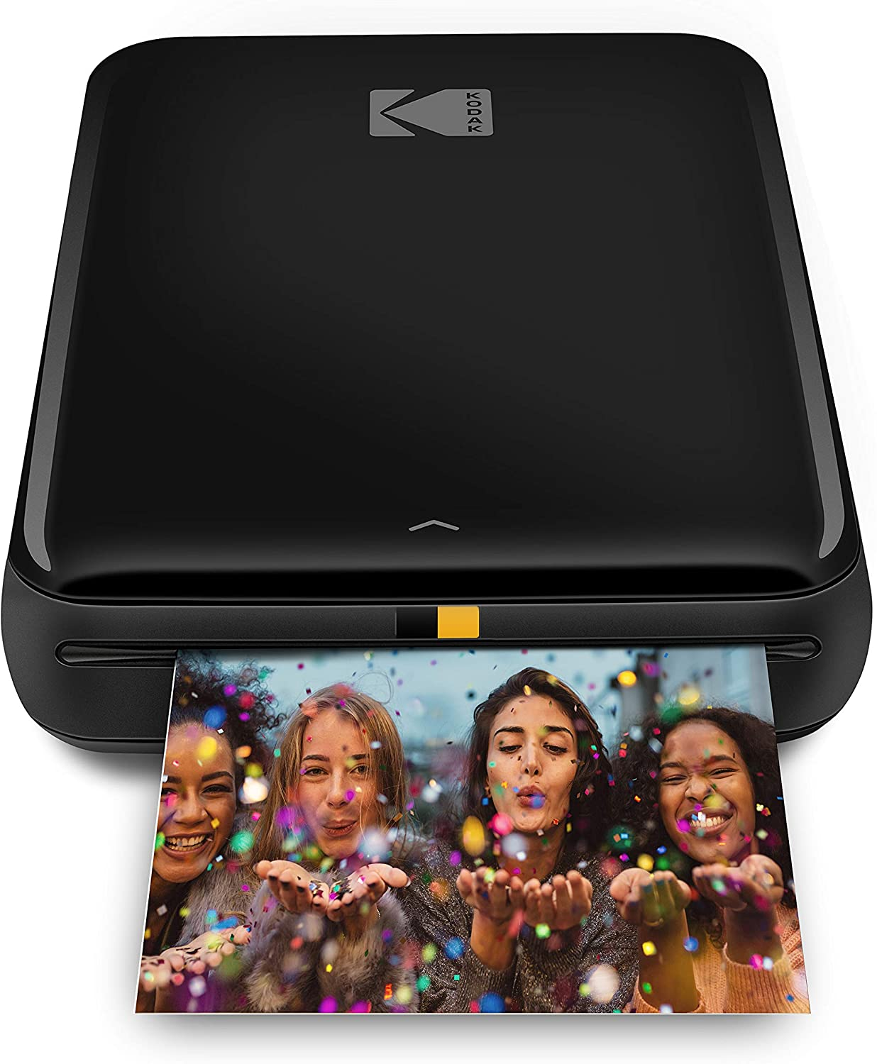KODAK Step Wireless Mobile Photo Mini Printer (Black) Compatible w/ iOS & Android, NFC & Bluetooth Devices