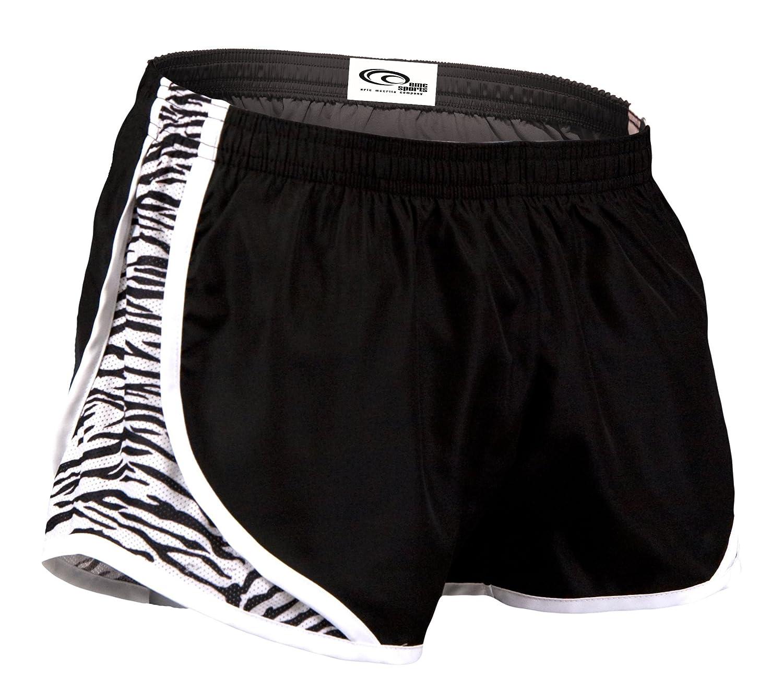 EMC Sports Momentum Shorts B0083I6O8S Small|Black/Zebra