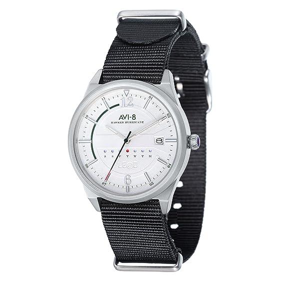 AVI-8 Hawker Hurricane AV-4044-04 - Reloj para hombre: Amazon.es: Relojes