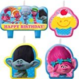 Amazon.com: Dreamworks Trolls – Vela de fiesta de cumpleaños ...