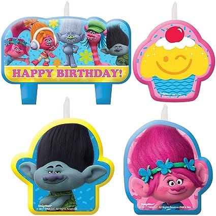 Amazon.com: Cars 3 Party Supplies Disney Birthday Candle Set(4 ...