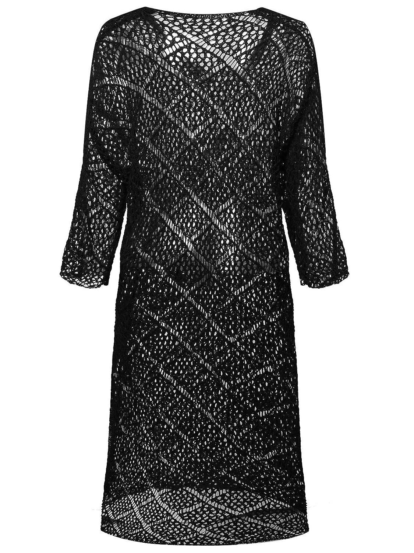 Amazoncom 7th Element Plus Size Crochet Dress Cover Ups Dresses